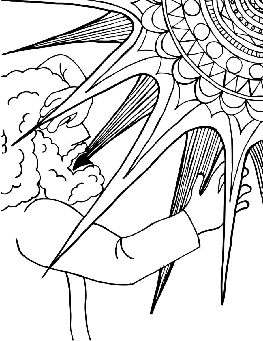 The big christian family january 25 conversion of st for Apostle paul coloring page