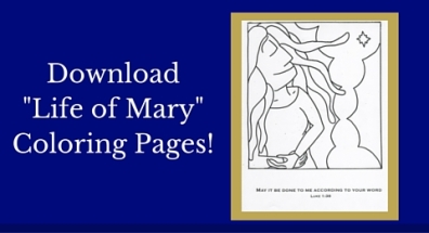 Download-Life of Mary-Coloring Pages!