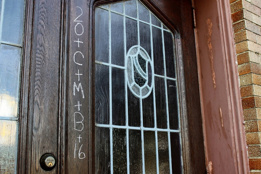 Epiphany Chalking of the Doors | The Homely Hours
