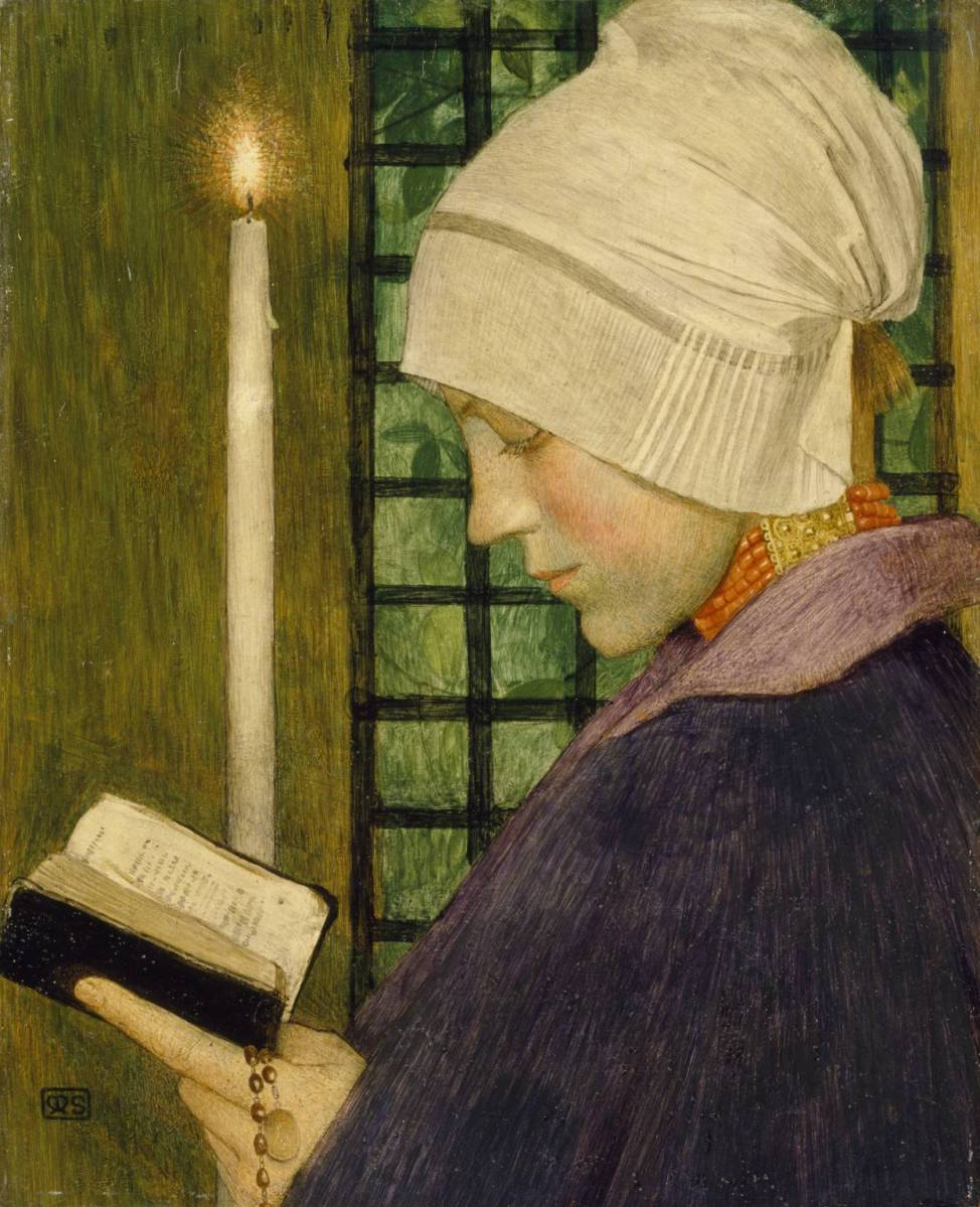 "A ""Homely"" Artist: Marianne Stokes"