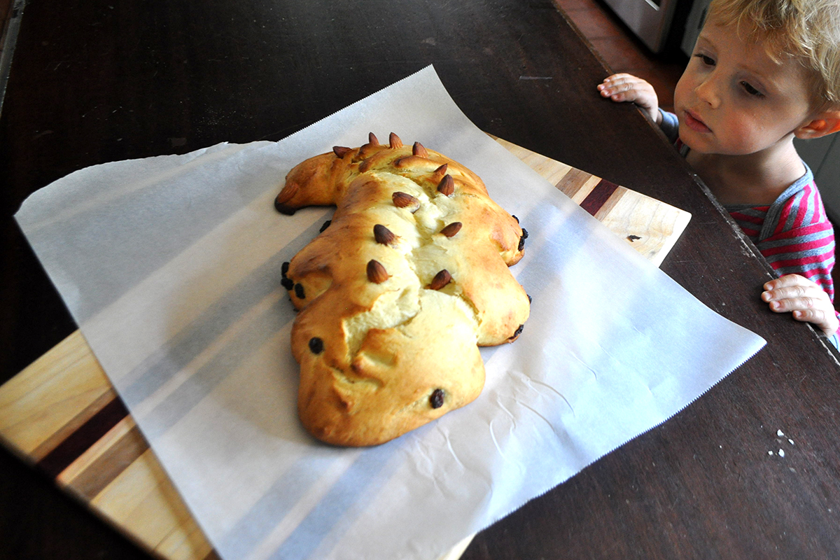 Dragon Bread For Michaelmas The Homely Hours