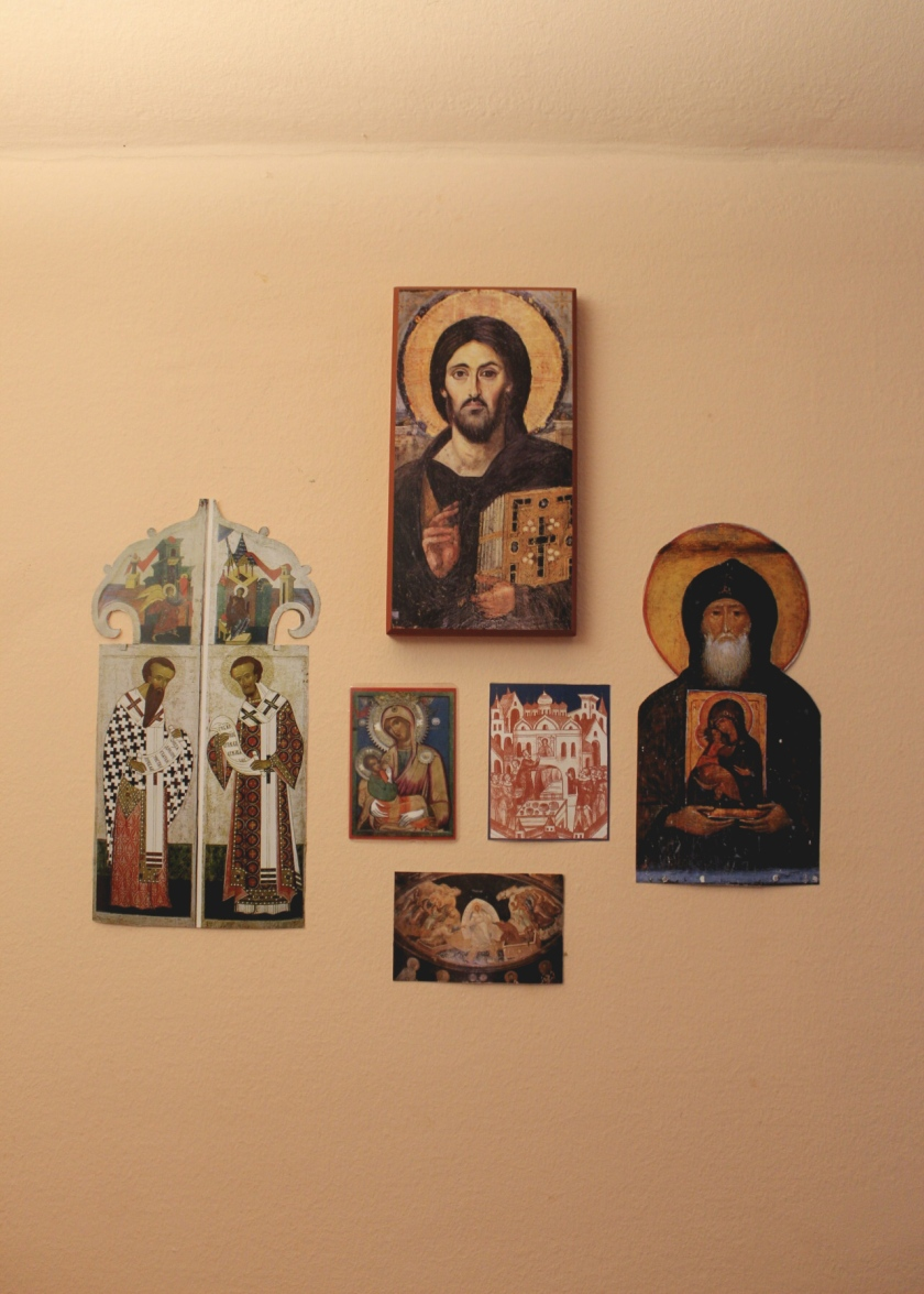 Icon Wall in Our Study_Office